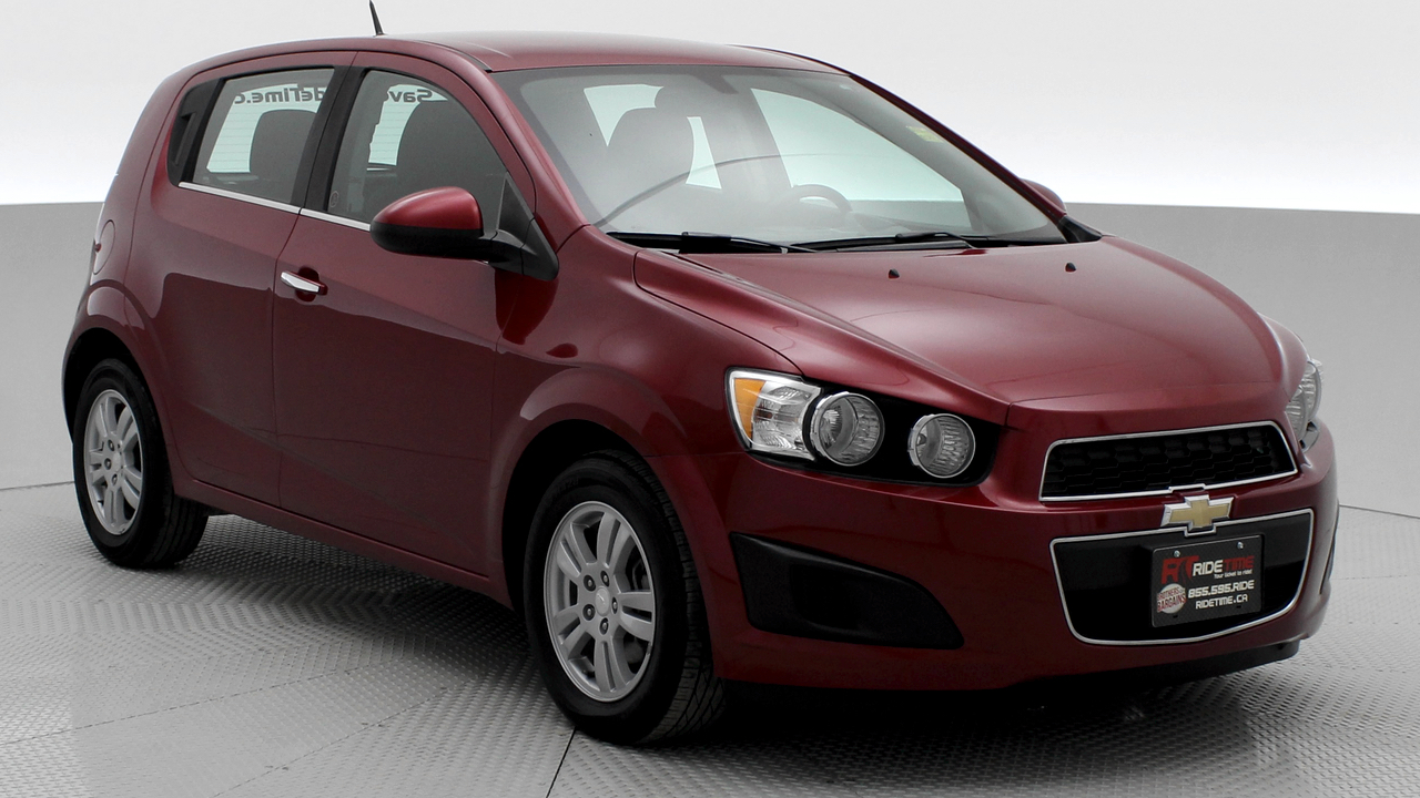 Get A Car With Bad Credit >> 2014 Chevrolet Sonic LT Hatch from Ride Time in Winnipeg, MB Canada | Ride Time